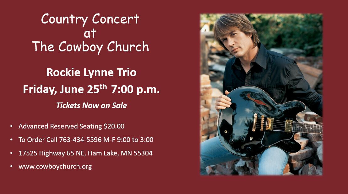 Country Concert at the Cowboy Church -  Rockie Lynne Trio